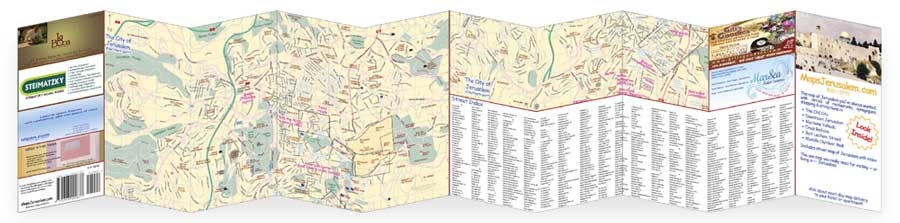 Back of map